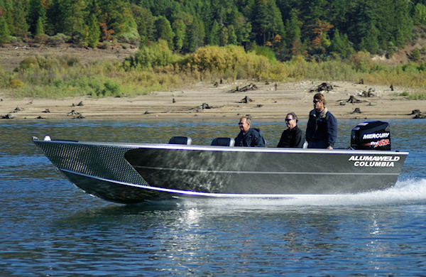 Alumaweld Premium All Welded Aluminum Fishing Boats For