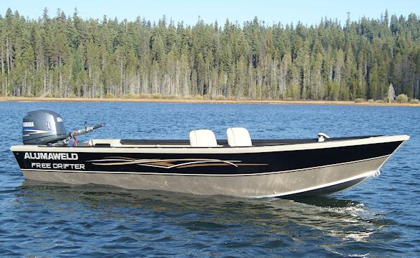 Alumaweld premium all welded aluminum fishing boats for for Trolling motor for 18 foot boat